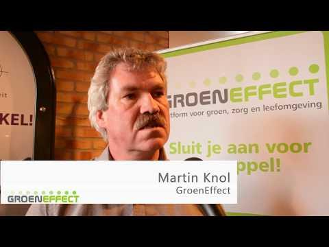 Maak kennis met: Martin Knol - hoofdredactie GroenEffect
