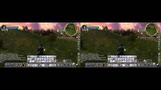 Lord of the Rings Online Gameplay with NVIDIA 3D Vision