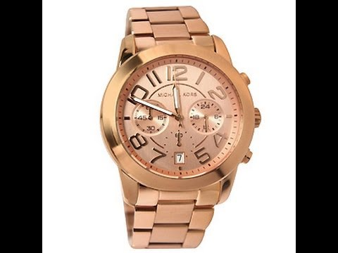 65c9cd965227 MICHAEL KORS WATCH from TJ MAXX - YouTube