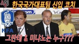 스페인 축구 | 토니 그란데와 하비에르 미냐노, 한국대표팀에 영입된 두명의 스페인 코치