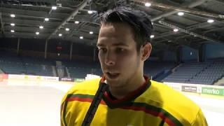 "D. Motiejūno komentaras po mačo su ""Hockey Punks"""