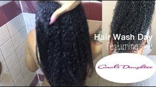 Natural Hair Wash Day Routine FT. Carol's Daughter Green Supreme Bundle
