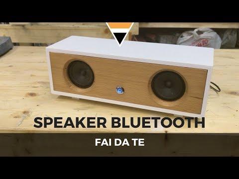 Fai da te - Speaker bluetooth || Lavorazione del Legno