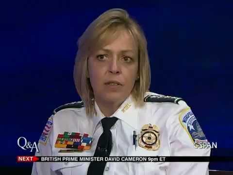 Cathy Lanier, Washington, DC Police Chief