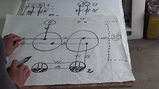 상시점등 파일럿램프와 2개동시점멸등 연결및 콘센트 (일본 전기2종 기능 2번 공표 예상 복선도)