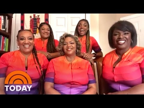 Meet The Ebony Anglers, A Black Female Competitive Fishing Team | TODAY