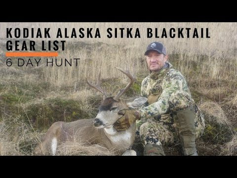 Trail Kreitzer's Sitka Blacktail Deer Gear List For Kodiak Alaska