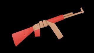 Easy #Origami Paper #Gun #AK47 thumbnail