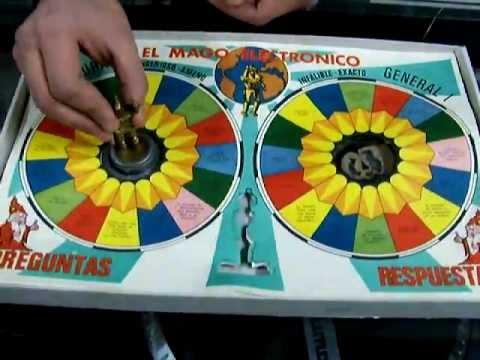 Juego de mesa mago electronico vintage a os 80 contesta for Cazafantasmas juego de mesa