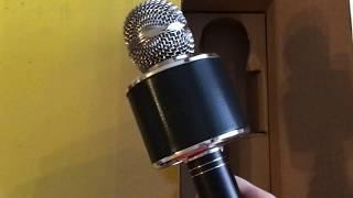 Rozbaluju karaoke mikrofon HANDHELD KTV WS-858 (černý) / Eljet Globe Black