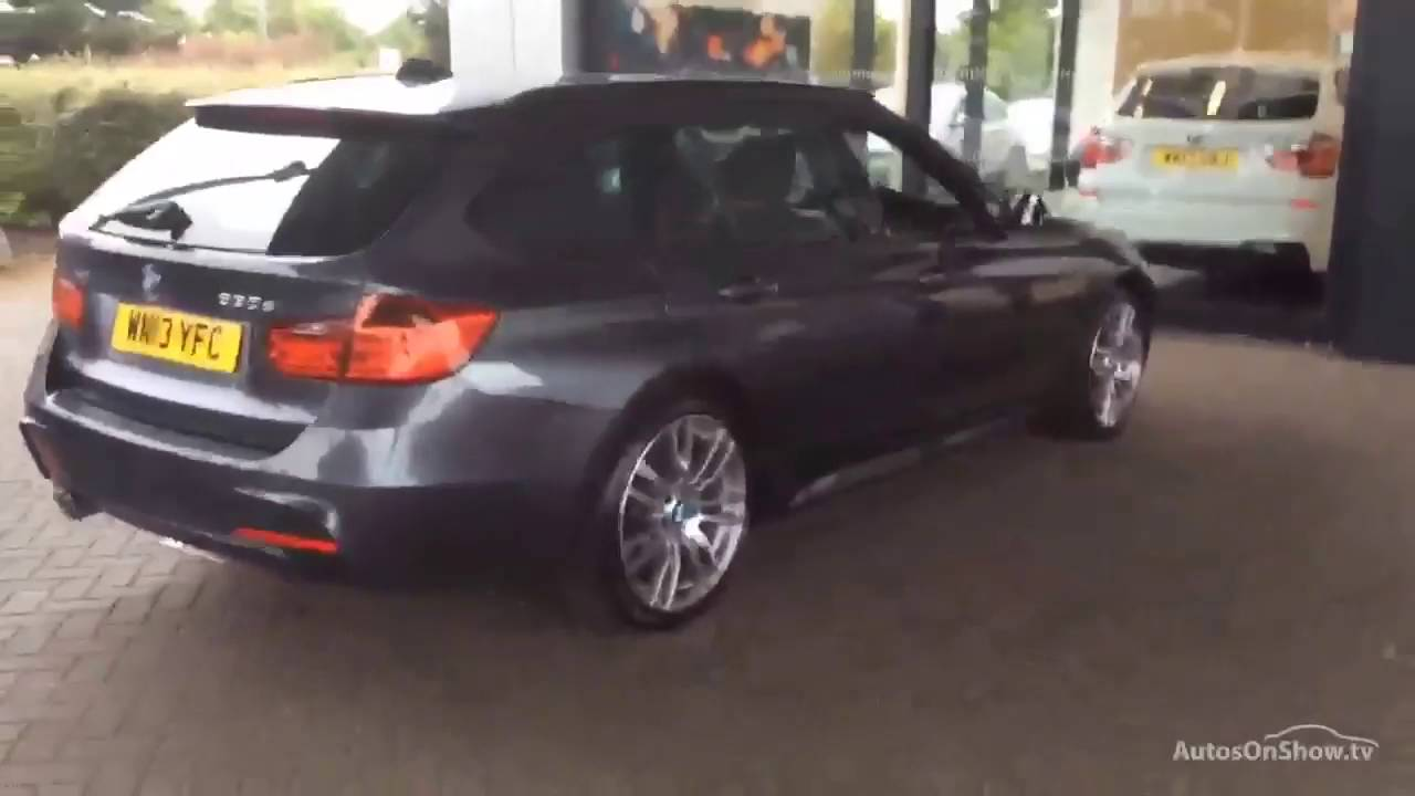 bmw 3 series 330d xdrive m sport touring grey 2013 youtube. Black Bedroom Furniture Sets. Home Design Ideas