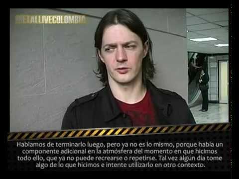 Entrevista Satyricon para Metallivecolombia Bogotá Noviembre 2011