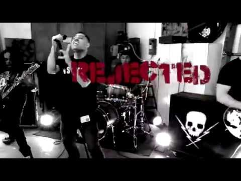 "Death by Stereo - ""Rejected"" feat. Skinhead Rob - Official Music Video"