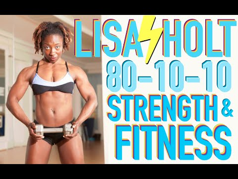 80-10-10 Raw Vegan Bodybuilder - Lisa Lighting Bolt Holt