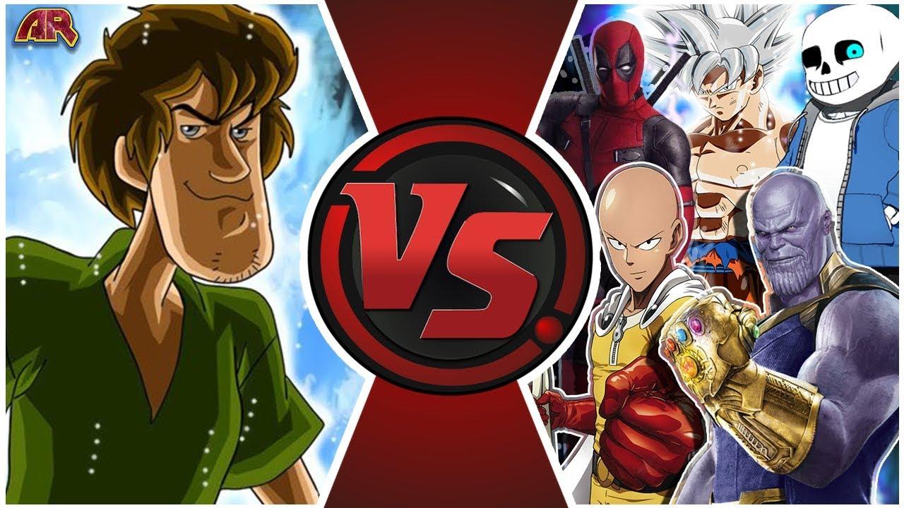 SHAGGY vs EVERYONE! (Ultra Instinct Shaggy vs Goku, Thanos ...