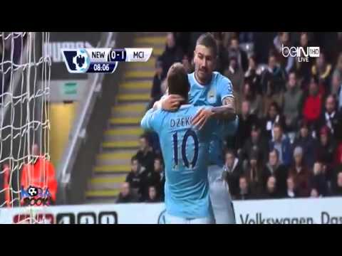 Newcastle United vs Manchester City 0-2