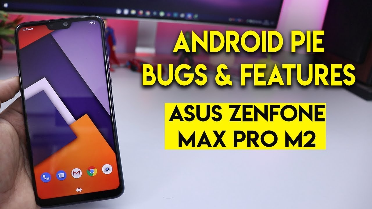 Zenfone Max Pro M2 after Stable Pie 9 0 update screen blinking,Bug