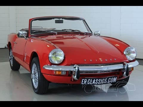triumph spitfire mk3 cabriolet 1969 very good condition video youtube. Black Bedroom Furniture Sets. Home Design Ideas