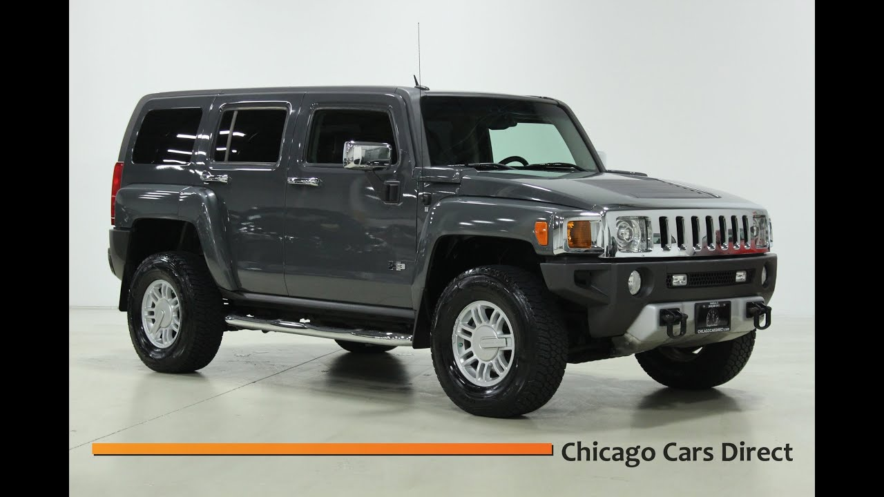 chicago cars direct presents this 2008 hummer h3 luxury. Black Bedroom Furniture Sets. Home Design Ideas