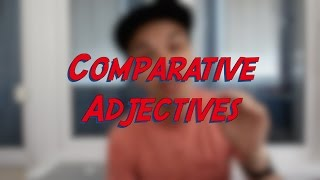 Comparative Adjectives - Learn English online free video lessons