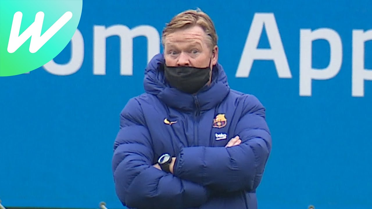 Download Koeman left speechless by skills during Barça training   Copa del Rey   2020/21   Behind-the-Scenes