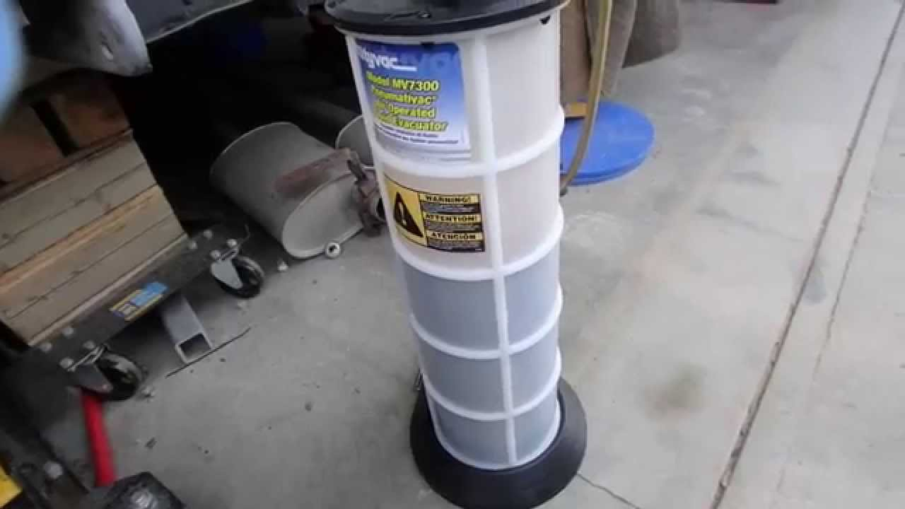 how to make an oil extractor