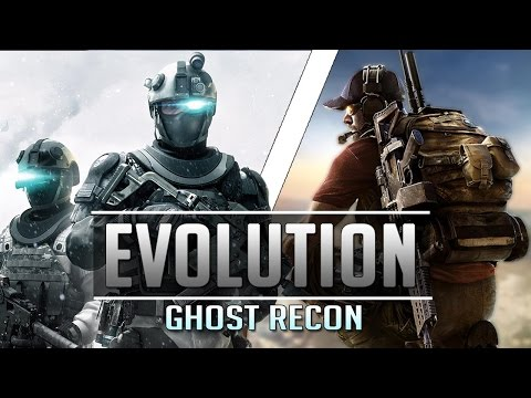 The Evolution of Tom Clancy's Ghost Recon Video Game Series