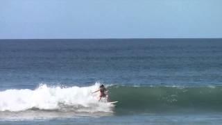 Born to surf in Nosara, Costa Rica