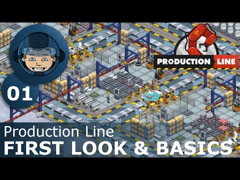 FIRST LOOK & BASICS - Production Line - Early Alpha Assembly