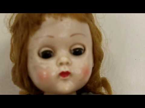 Vintage Ginny Vogue Doll, One of the vintage or antique dolls from our antiques mall at Gannons