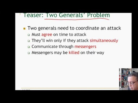 Lecture 1. Unit 1. Introduction to Distributed Algorithms, ID2203