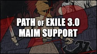 PATH of EXILE 3 7: How to Craft a BIG Maim Life Chest for