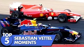 Top 5 Sebastian Vettel Moments
