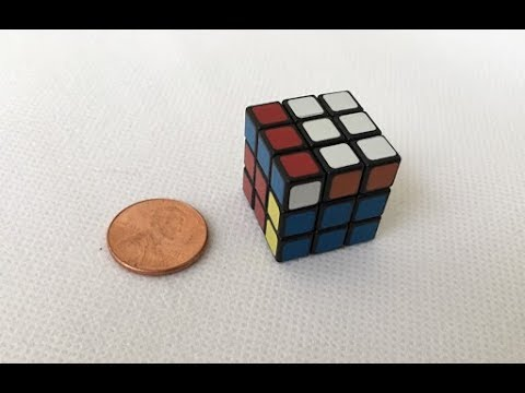 How Fast Can I Solve The Mini Rubik's cube?