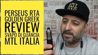 PERSEUS RTA - GOLDEN GREEK - REVIEW