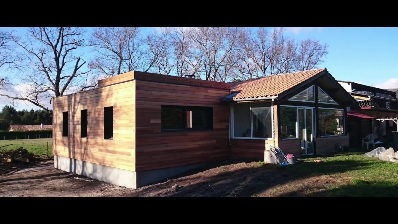 Extension de maison cube in life youtube for Cube agrandissement maison