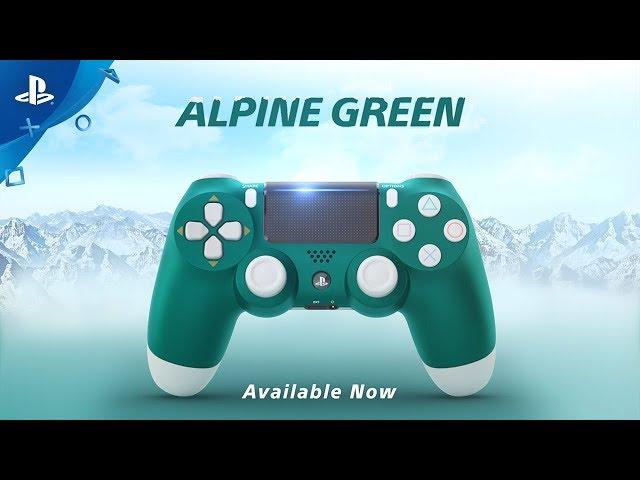 DUALSHOCK 4 Wireless Controller - Alpine Green   PS4