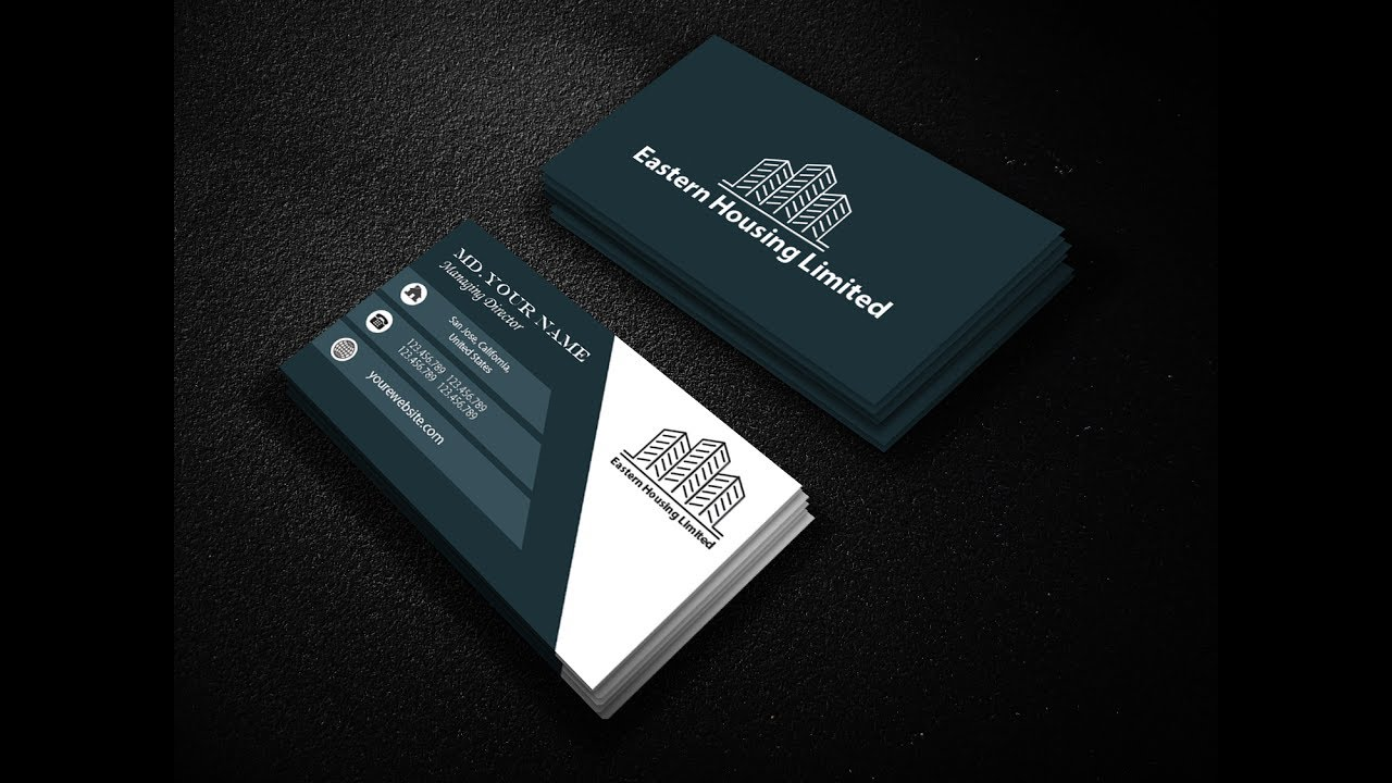 how to design real estate business cards in illustrator 2017 - Real Estate Business Cards