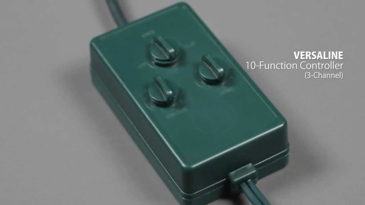high power 10 function controller for led christmas lights youtube
