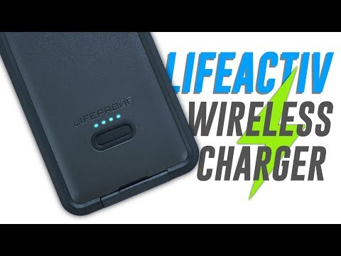 LifeProof LifeActiv Power Pack 10 Wireless Qi Charger | Review