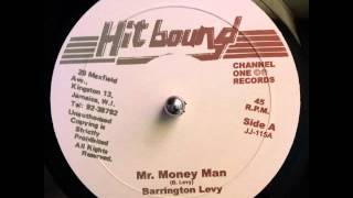 "Barrington Levy - Mr Money Man + Dub ""HIT BOUND"""