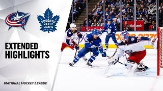 Columbus Blue Jackets vs Toronto Maple Leafs Oct 21, 2019 HIGHLIGHTS HD