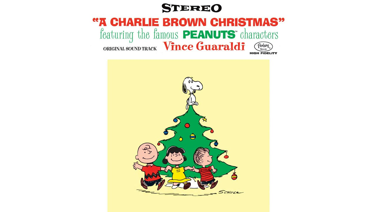 """O Tannenbaum by Vince Guaraldi from """"A Charlie Brown Christmas"""" - YouTube"""