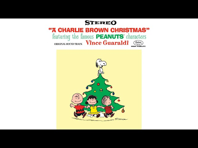 A Charlie Brown Christmas Soundtrack.O Tannenbaum By Vince Guaraldi From A Charlie Brown