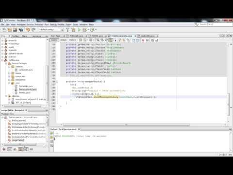 Programación JAVA SWING Mantenimiento 01