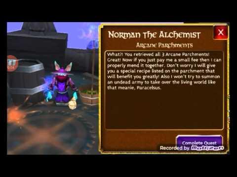 Arcane Legends Nekro Quest Complete!