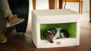 hundehhle aus kunstleder die original dog rooflounge von dogstyler