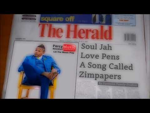 Soul Jah Love - Zimpapers (Sunshine Family Studios) September 2017