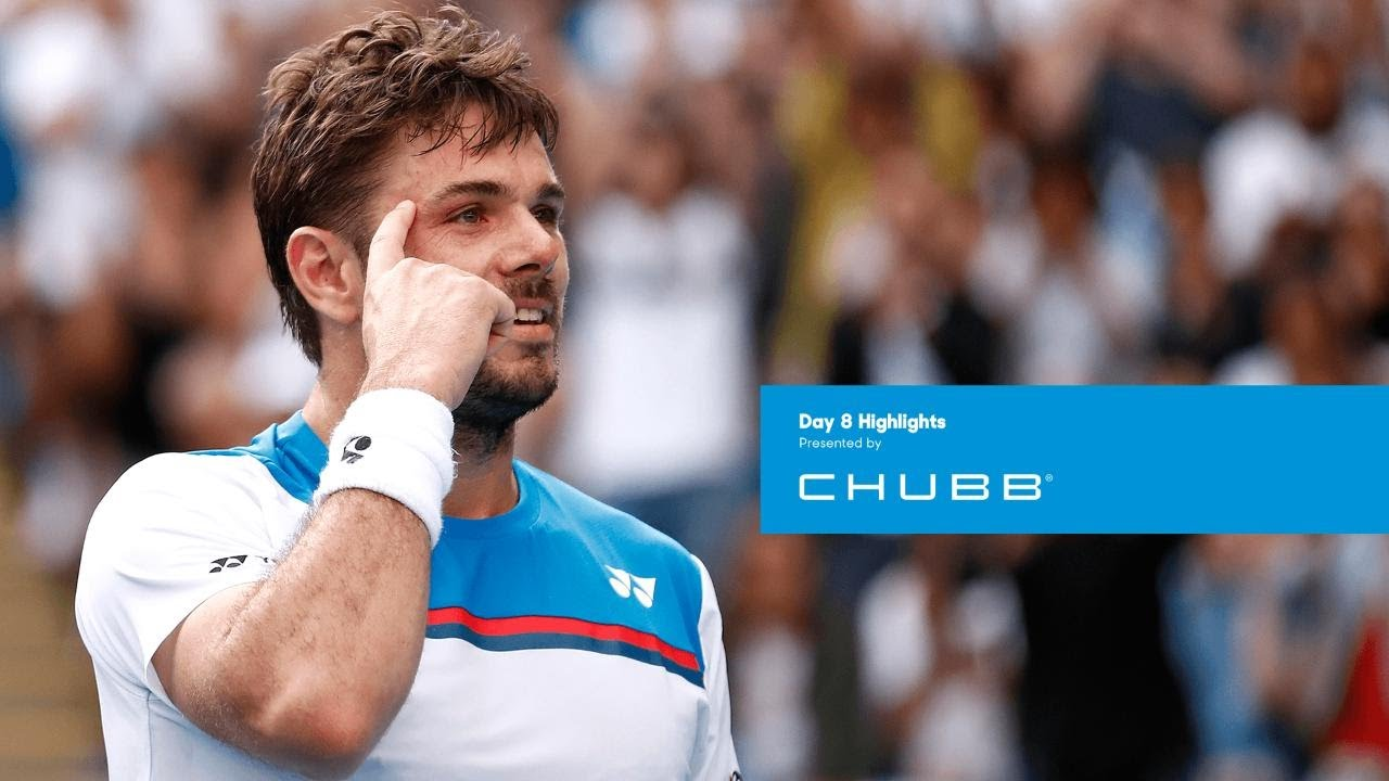 Stan Wawrinka continues his charge | Australian Open 2020 Day 8