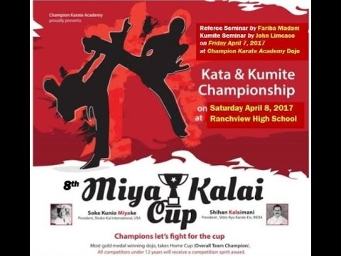 LIVE now - Watch 8th Miya Kalai Cup - Live from Irving - Texas